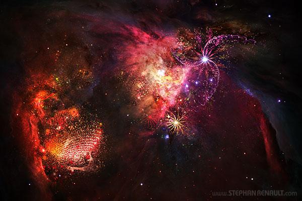 Galaxies Fractales  - Stephan Renault