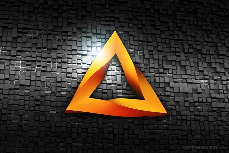 Metaphysical Triangle Metal - Stephan Renault